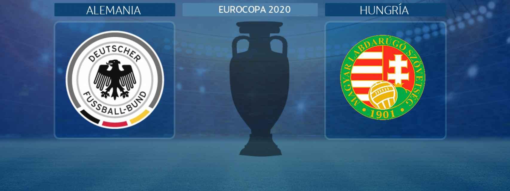 Alemania - Hungría, partido de la Eurocopa 2020