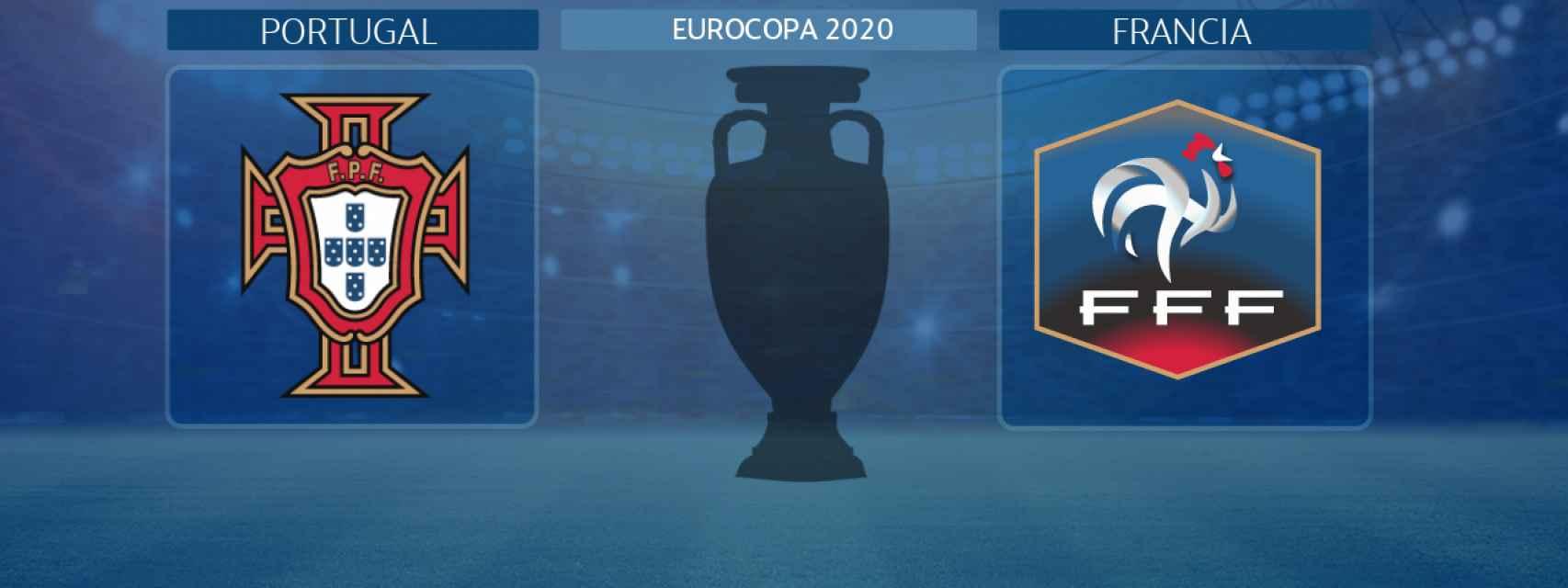 Portugal - Francia, partido de la Eurocopa 2020