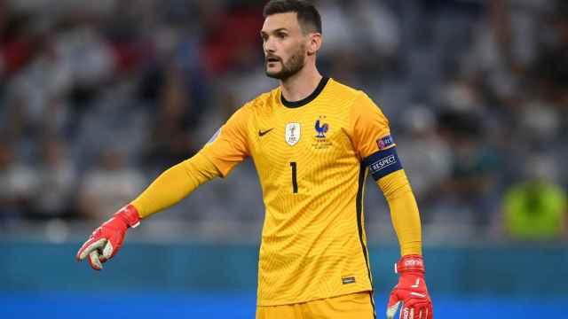 Hugo Lloris, en un partido de la selección de Francia en la Eurocopa 2020