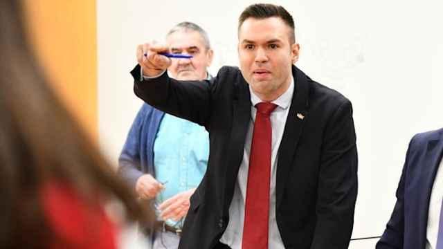 El diputado de Vox en Ceuta, Carlos Verdejo. Efe