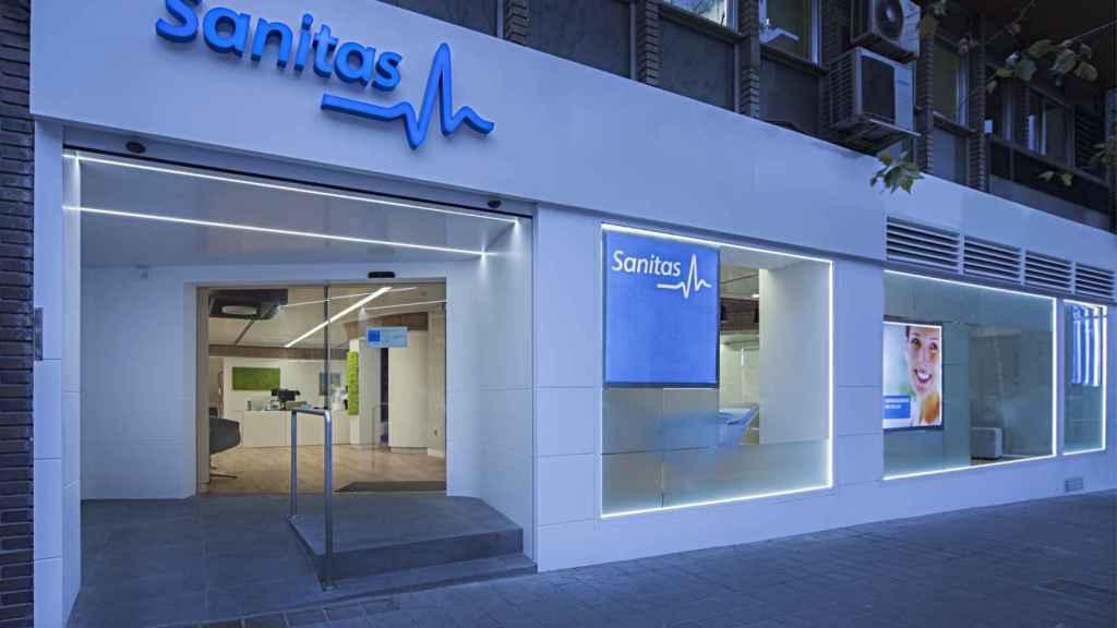 Una oficina de Sanitas en Alicante.