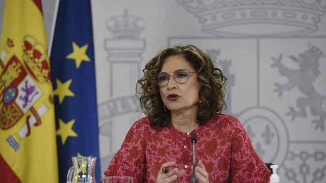 María Jesús Montero, ministra portavoz del Gobierno.