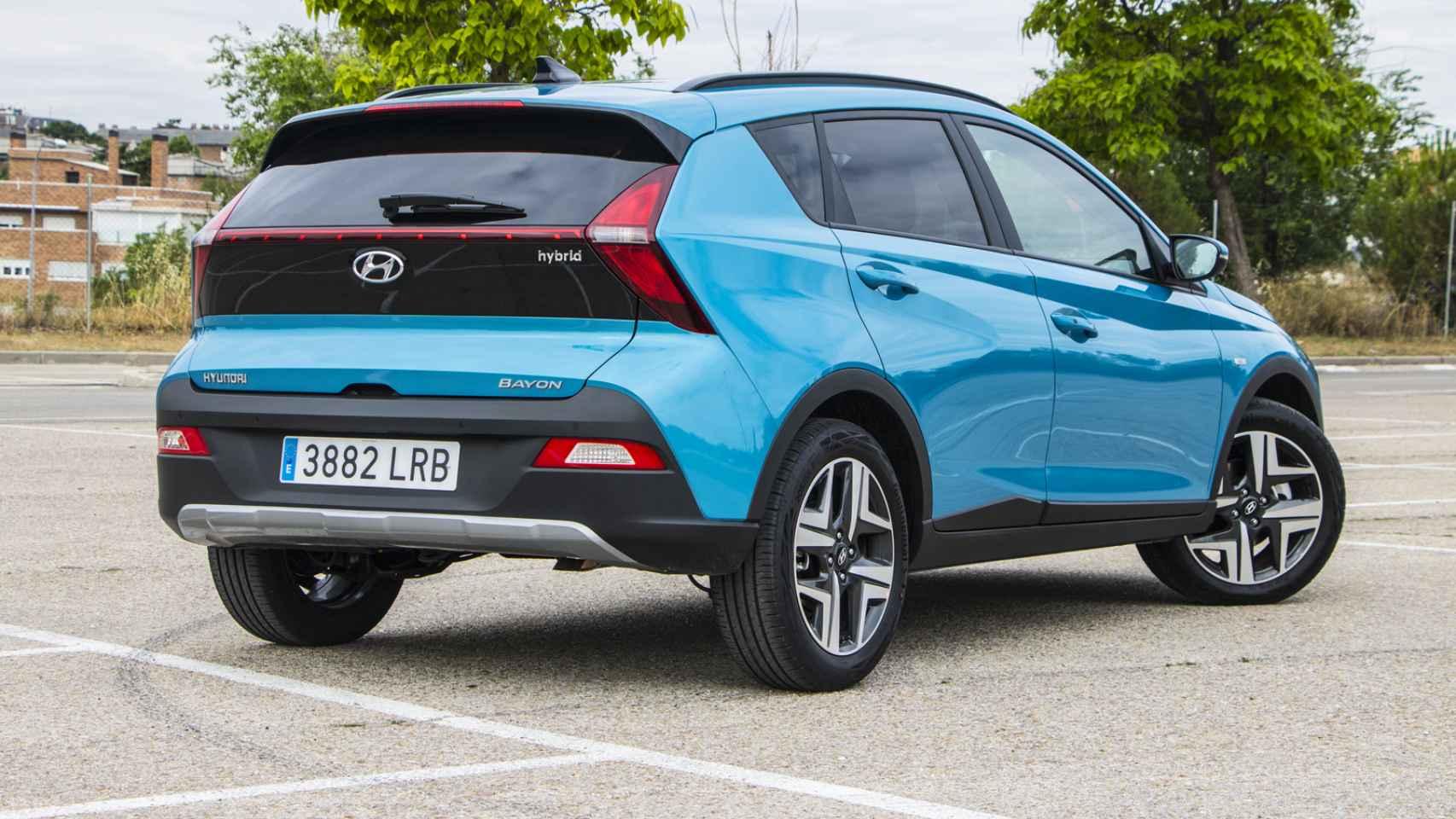 Hyundai Bayon: todas las fotos del nuevo SUV urbano