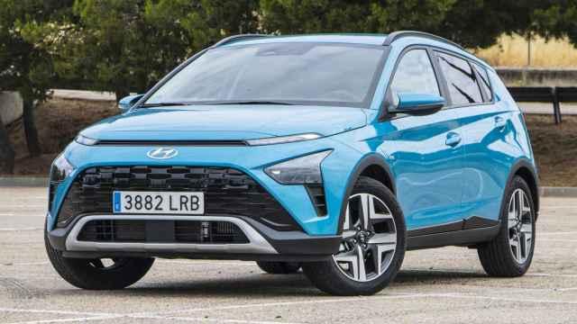 Nuevo Hyundai Bayon con el motor 1.0 de 100 CV y etiqueta eco.