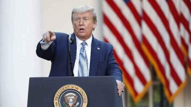 El expresidente de Estados Unidos, Donald Trump, en una imagen de archivo. EP