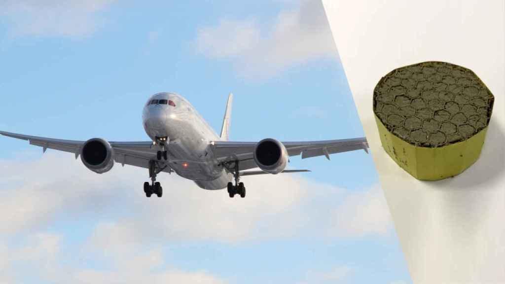 El material que silenciará los aviones.