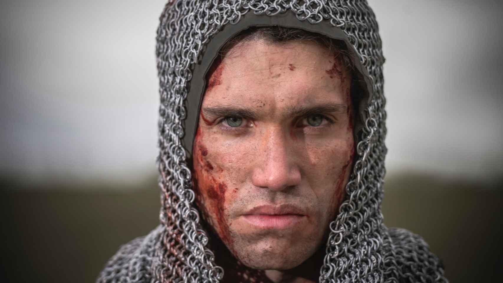 Jaime Lorente en la temporada 2 de 'El Cid'.