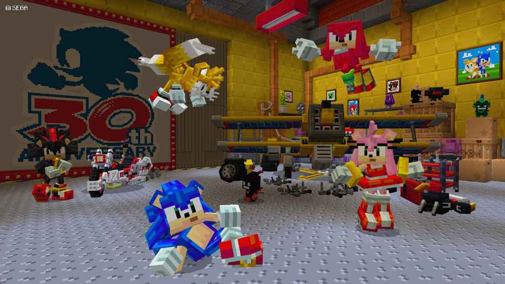 Sonic en Minecraft para Android