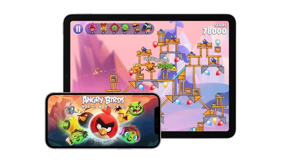 Angry Birds Reloaded en Apple