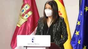 Bárbara García, consejera de Bienestar Social de Castilla-La Mancha