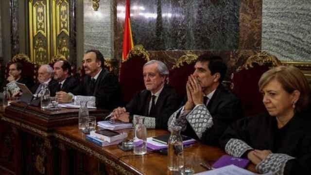 Tribunal que celebró el juicio del 'procés', en una imagen de archivo./
