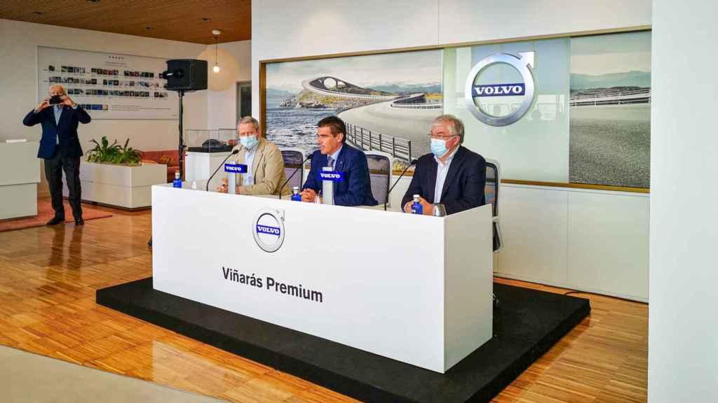 Inauguracion Volvo en Illescas.