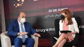 El vicepresidente Martínez Guijarro durante su intervención