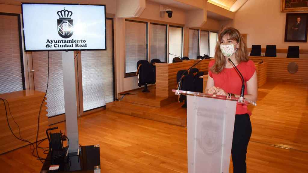 Mariana Boadella durante la comparecencia