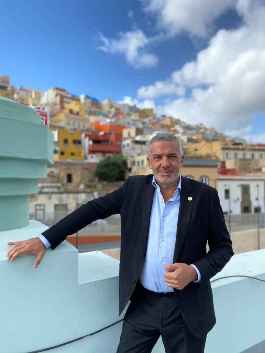 Lluís Serra, catedrático de Medicina Preventiva y Salud Pública y rector de la Universidad de Las Palmas.