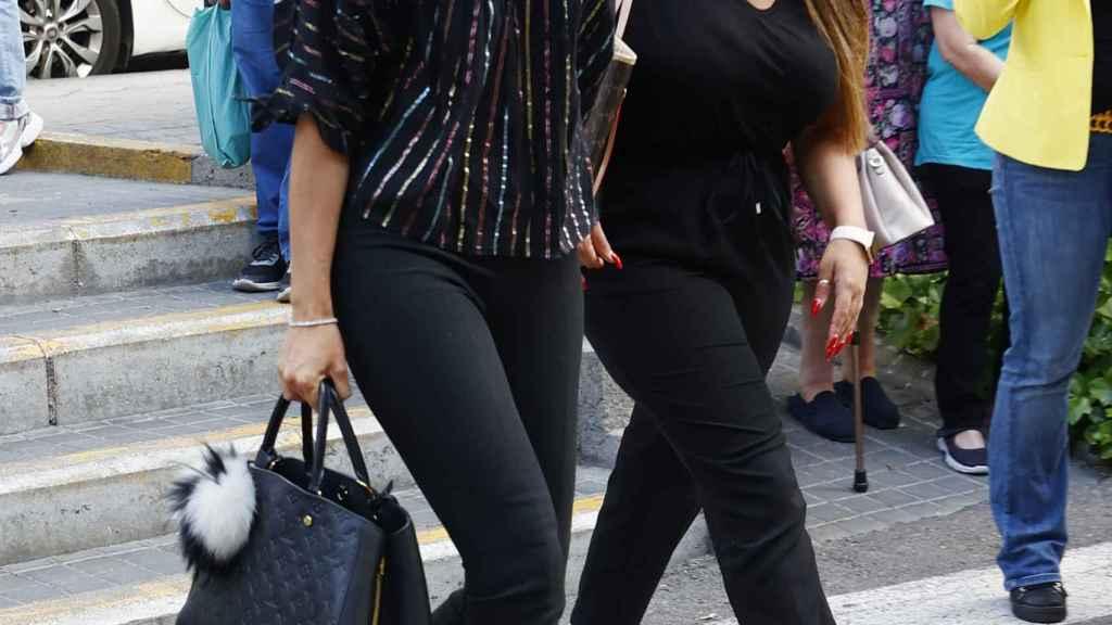 Alba Carrillo y Noemí Salazar, compañeras de la fallecida en Gran Hermano VIP.