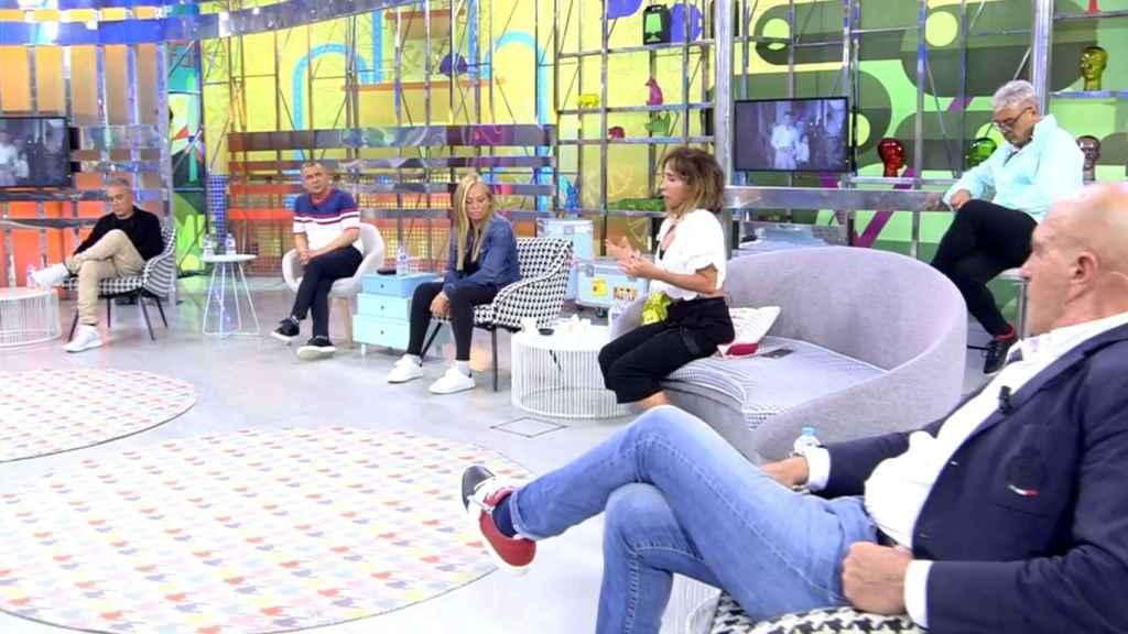 Jorge Javier, Belén Esteban, Kiko Hernández o María Patiño han homenajeado juntos a su amiga en 'Sálvame'.