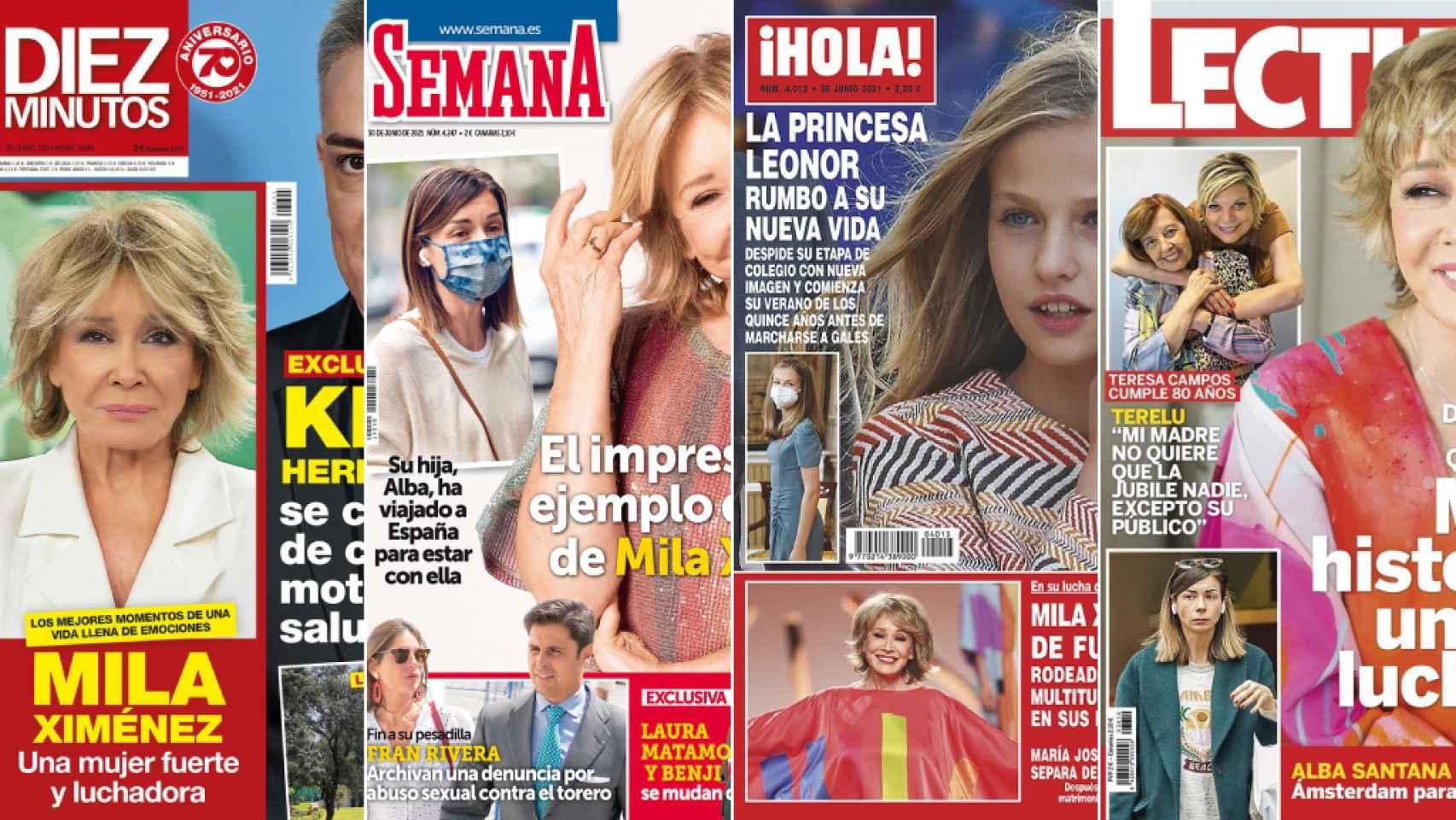 Revistas del miércoles 23 de junio de 2021.