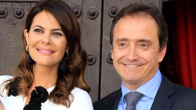 María José Suárez y su marido Jordi Nieto en una imagen fechada en noviembre de 2017.