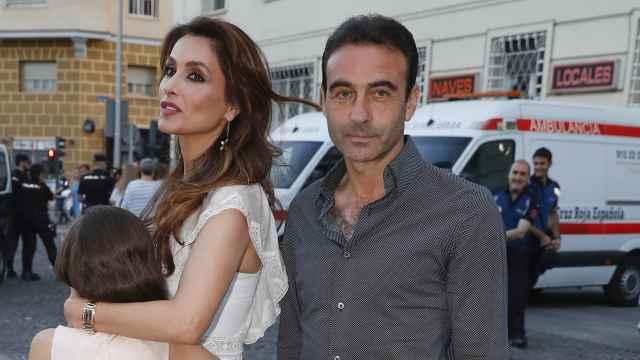 Enrique Ponce y Paloma Cuevas en una imagen de archivo.