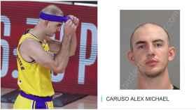 Alex Caruso, detenido