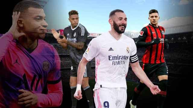 El '9' del Real Madrid