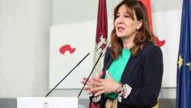 Blanca Fernández, portavoz del Ejecutivo regional.