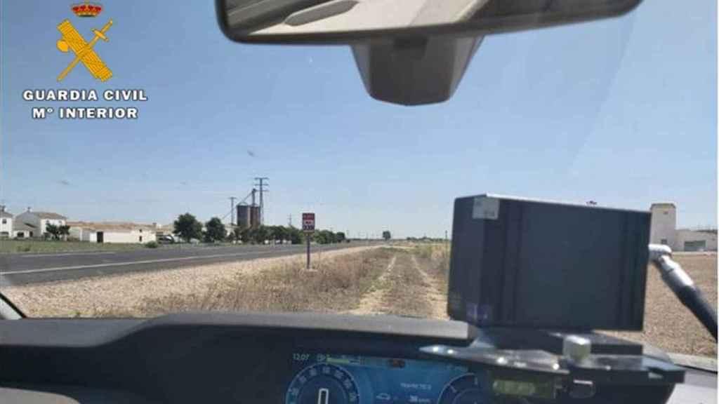 Imagen de archivo de un radar móvil
