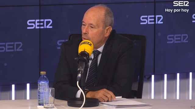 Juan Carlos Campo, ministro de Justicia, en la Cadena SER.