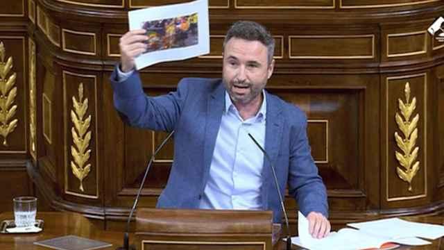 Así fue la intervención de Guillermo Díaz en el Congreso de los Diputados