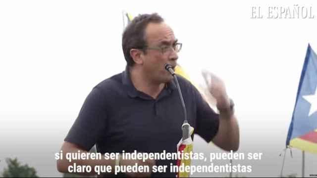 Josep Rull asegura que seguirán luchando por la independencia y que la conseguirán: Ganaremos