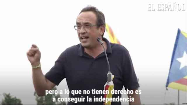 Josep Rull asegura que seguirán luchando por la independencia.