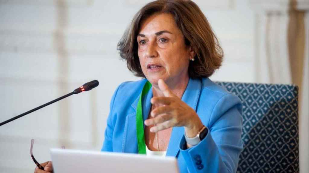 Ángeles Santamaría, consejera delegada de Iberdrola España.
