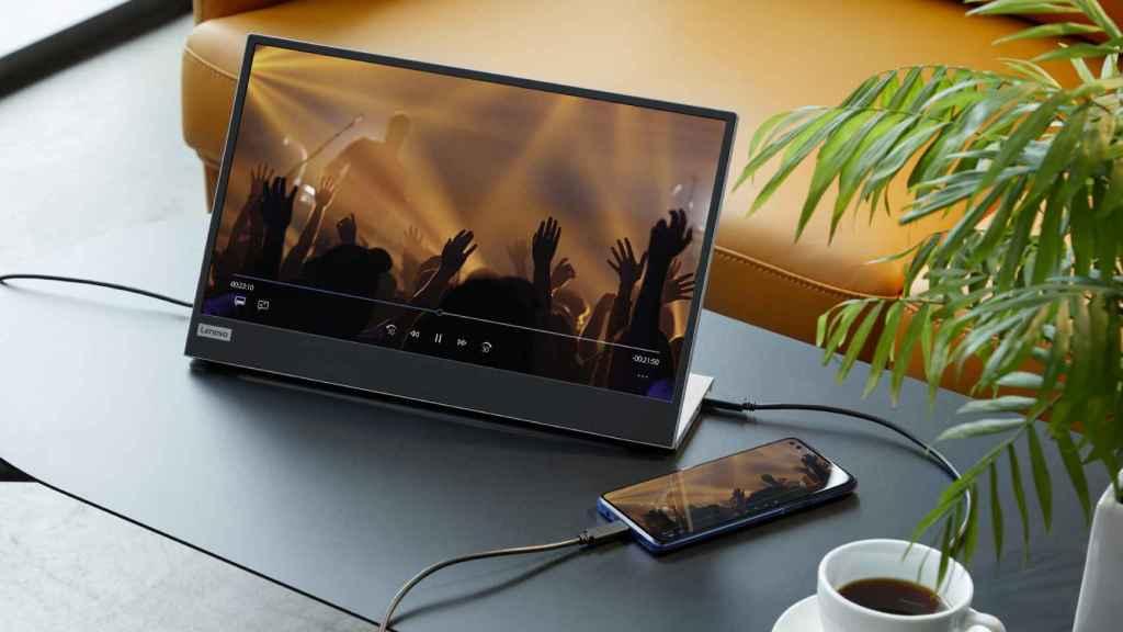 Lenovo L15 USB-C Mobile Monitor