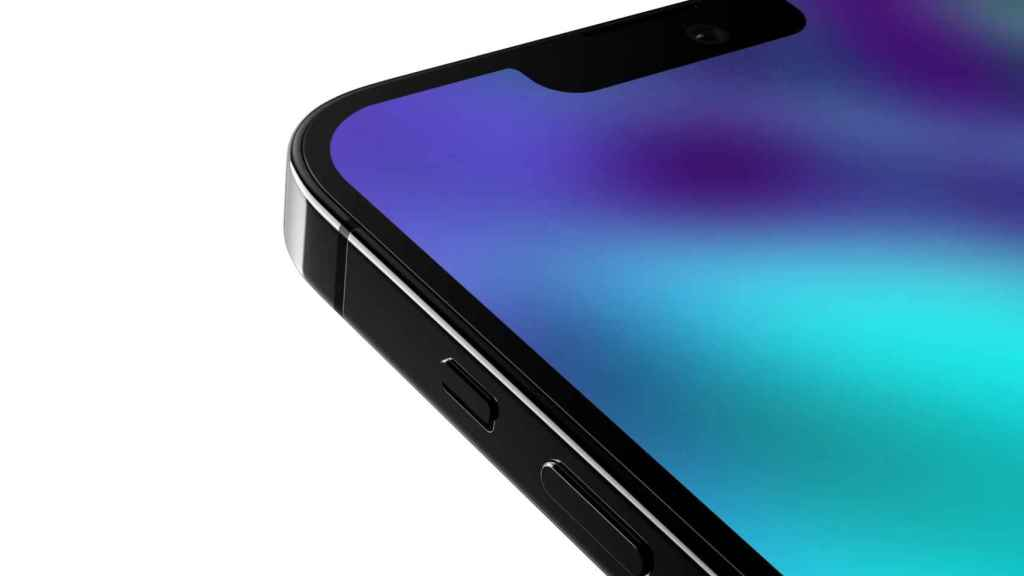 Falso render del iPhone 13