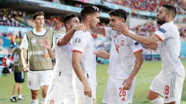 El España - Eslovaquia de la Eurocopa barre con más de seis millones de espectadores