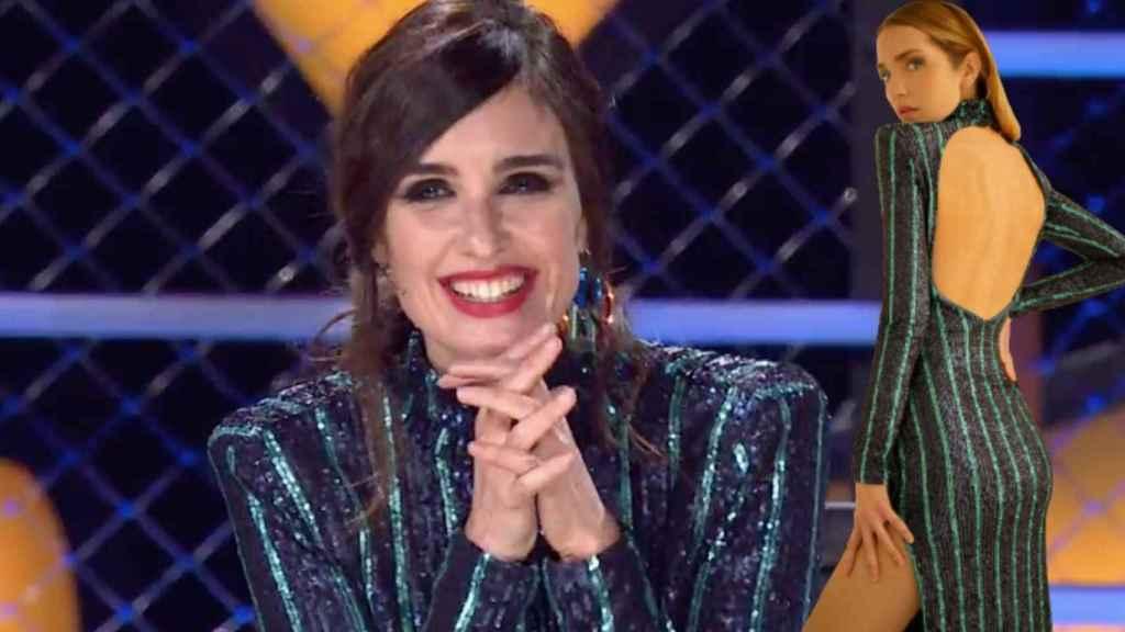 Paz Vega deslumbra con un vestido de lentejuelas 'made in spain'.