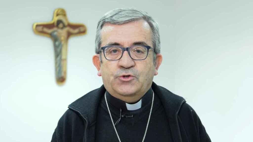 El secretario general de la Conferencia Episcopal, Luis Argüello.