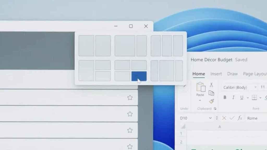 Nuevas opciones para las ventanas de Windows.