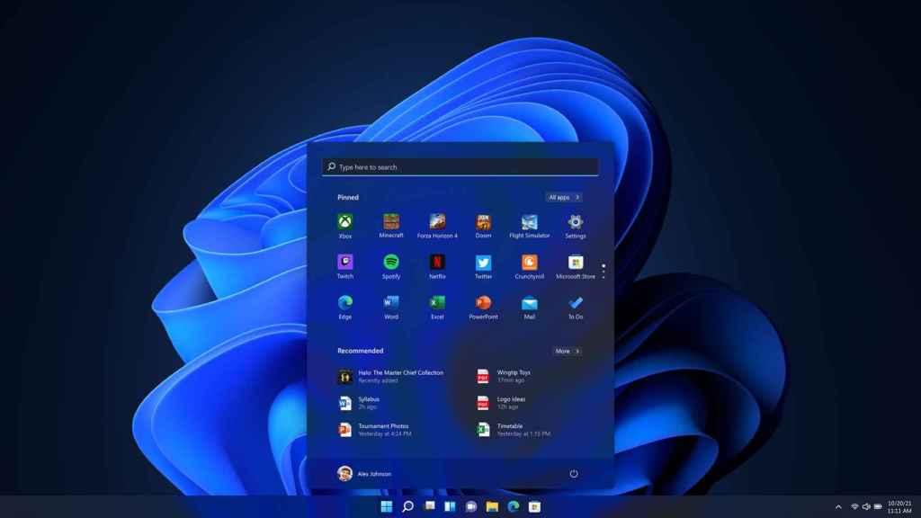 Nueva interfaz de Windows.