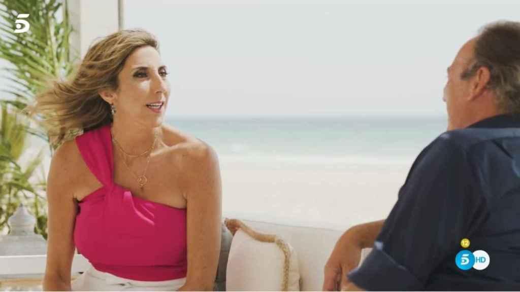 Paz Padilla, emocionada, hablando de su infancia en Cádiz.