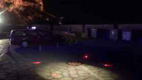 Dos drones de la Policía Local de Alicante vigilan la ciudad durante la noche de San Juan.