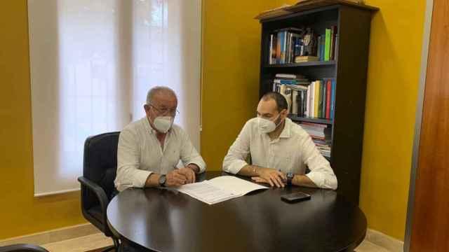 Sebastián Cañadas, alcalde de Mutxamel, anuncia el plan para aplicar la Agenda 2030.