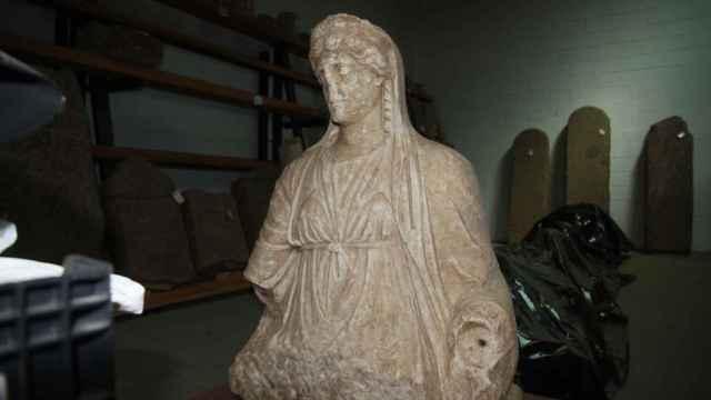 La diosa Juno ha estado en un almacén durante más de una década.