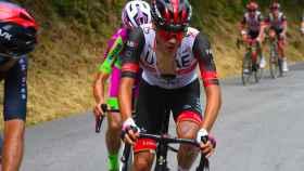 Juan Ayuso en el Giro de los Apeninos