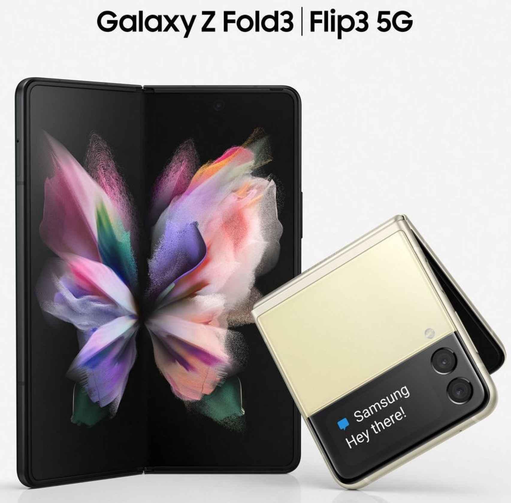 Galaxy Z Fold 3 y Flip 3