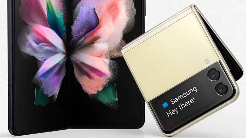 Samsung: Galaxy Z Fold 3 y Flip 3