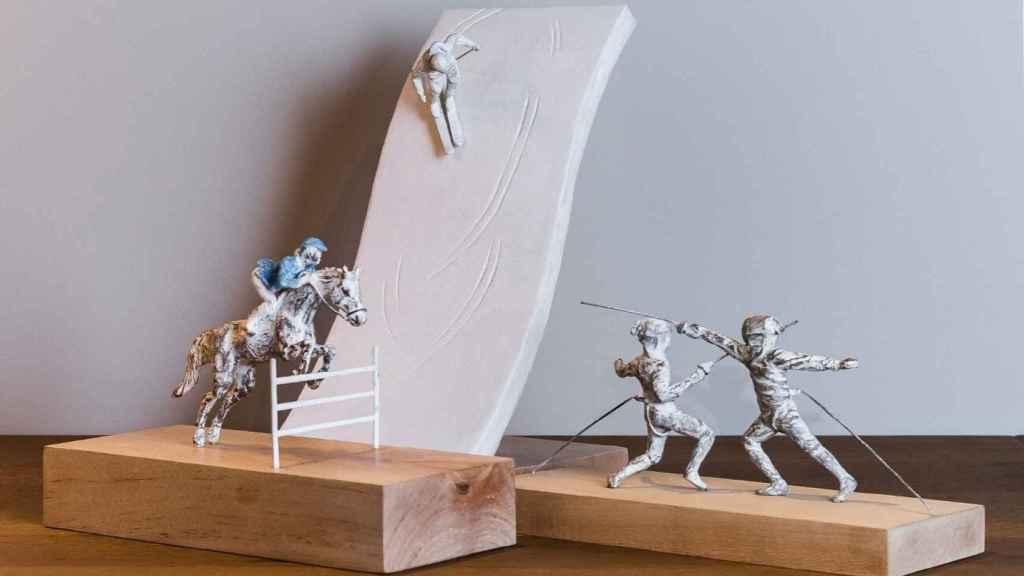Esculturas de la empresa. Foto: Aere