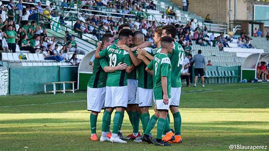 Jugadores del Toledo. Foto: EDCM