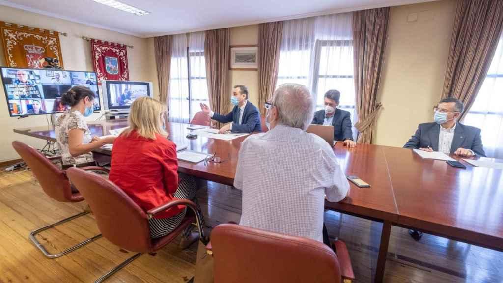 Reunión de la Comisión Regional de Seguimiento del Plan Especial de Empleo en Zonas Rurales Deprimidas.